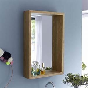 Spiegel Holzrahmen Eiche : spiegel aus eiche 70x45 easy tikamoon ~ Indierocktalk.com Haus und Dekorationen