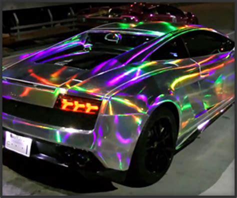 rainbow chrome lamborghini rainbow lambo