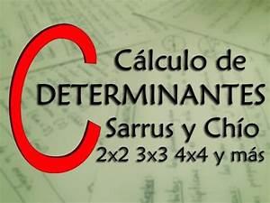 Determinante Berechnen 2x2 : c lculo de determinantes 2x2 3x3 4x4 y mas sarrus ch o ~ Themetempest.com Abrechnung