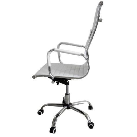 office chairs eames style high back ribbed executive