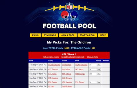 Are Office Football Pools In by Nfl Pool Office Football Pool Apk Free Sports