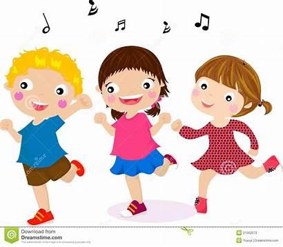 Dancing Clipart Children Featuring Illustration Dance Clip