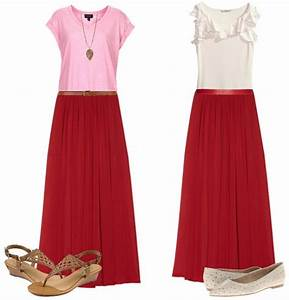How to Wear and What to Wear with Long Skirts (Qu0026A)