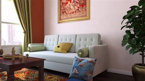 Indian Living Room Ideas By Livspace — Traditional Meets