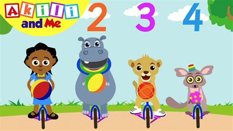 learn the number 4 akili and me educational 547 | maxresdefault