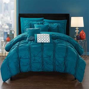 The, Curated, Nomad, Calidad, Blue, Bed, In, A, Bag, Comforter, Set
