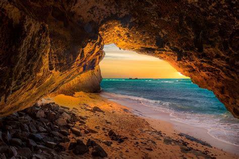 landscape, Nature, Cave, Beach, Sea, Sunset, Sand, Island ...