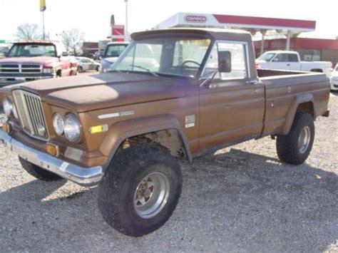 1970 jeep gladiator 1970 jeep j2000 gladiator 4x4 3 53 detroit diesel calf