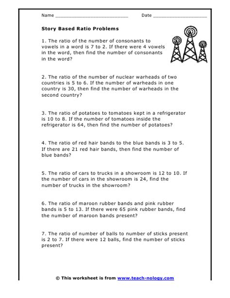 All Worksheets » Ratio And Proportion Worksheets  Printable Worksheets Guide For Children And