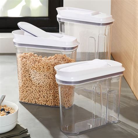 OXO Pop Cereal Dispensers   Crate and Barrel