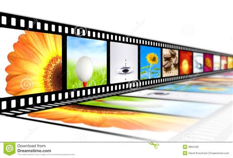 film strip stock illustration image  colorful