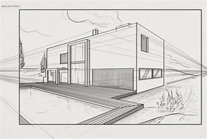 tuto maitriser la perspective avec photoshop cc sur tutocom With dessiner maison en 3d 2 interieur maison en perspective