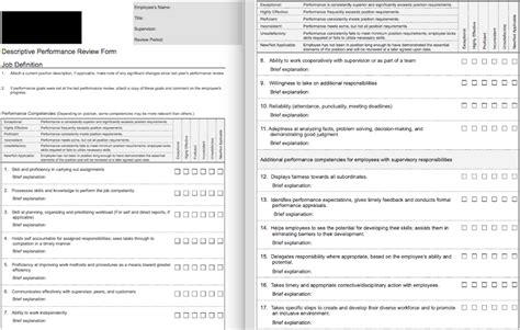 Employee Review Template 70 Fabulous Free Employee Performance Review Templates