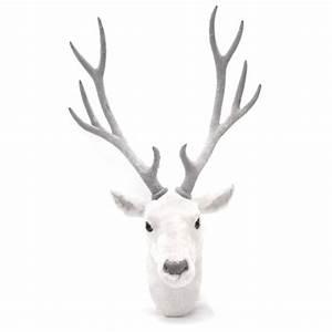 Trophée Mural Peluche : decoration bois de cerf ~ Teatrodelosmanantiales.com Idées de Décoration