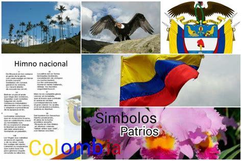 simbolos patrios y emblemas de colombia tierra