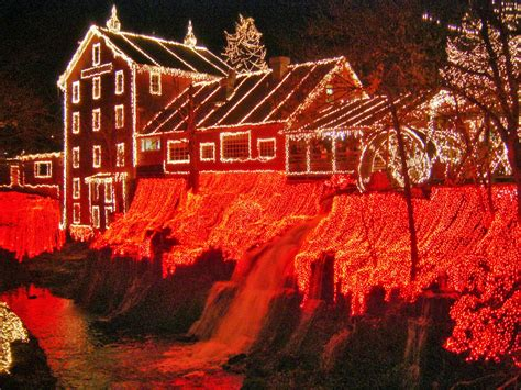 christmas lights in ohio places to go buildings to see clifton mill christmas