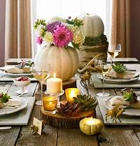 thanksgiving table centerpieces Easy Thanksgiving Centerpieces | Midwest Living