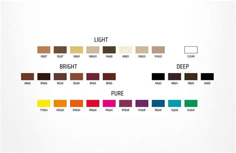 Elumen Colour Chart Helps To Choose The Hair Colour You Love