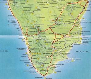 Southern Railway Map India Travel Forum Indiamike Com