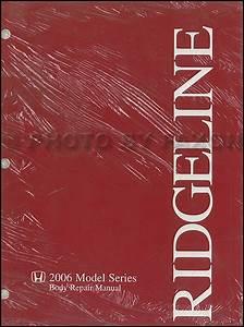 2006 2007 Honda Ridgeline Truck Service Repair Manual Set Oem Factory Book Service Manual And The Electrical Wiring Diagrams Manual