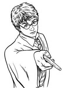 Coloriage Imprimer Personnages C L Bres Harry Potter