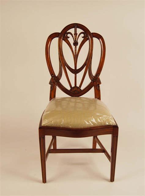 mahogany shield  dining room chairssweetheart ebay