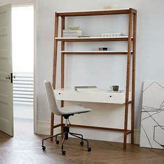 ana white build  leaning wall ladder desk
