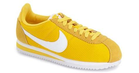 Nike u0026#39;classic Cortezu0026#39; Sneaker in Yellow (VARSITY MAIZE/ WHITE) | Lyst