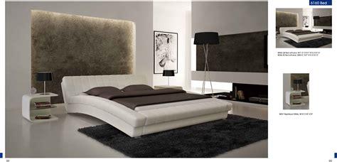 bedroom furniture modern bedrooms white bed nightstands decobizz com