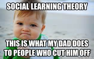 Learning Meme - social learning theory