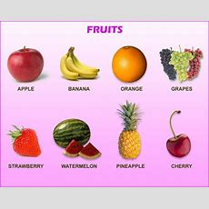 Kids Cartoons Kids Learn Poem Song Video  Fruit Names