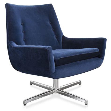 mrs godfrey chair swivel base by jonathan adler the