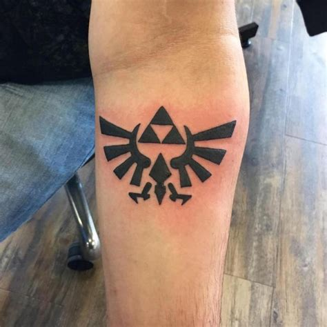 mighty triforce tattoo designs meaning discover