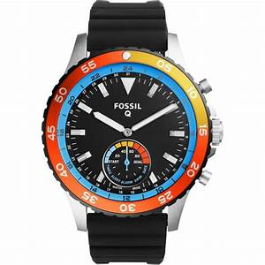 Montre Fossil Connectee : montre connect e fossil q crewmaster ftw1124 montre ~ Melissatoandfro.com Idées de Décoration