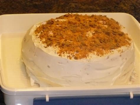 theresas mixed nuts butterfinger cake