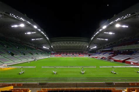 led lighting  kobe misaki stadium  worlds