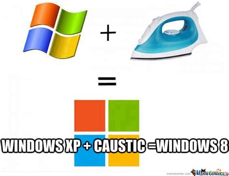 Windows Xp + Caustic = Windows 8 By Ameer9743