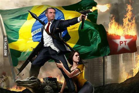 Next President of Brazil, Donald Bolsonaro Trump. Former