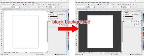 color  workspace   white coreldraw graphics