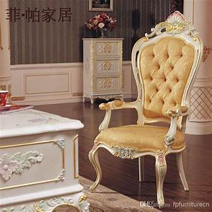 Royal Classic European Furniture Hand Carved Baroque