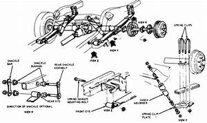 Classic Mustang Rear Suspension Diagram