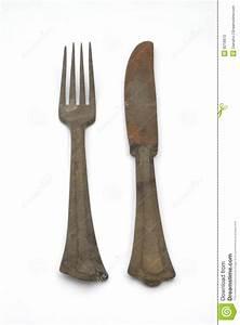 Rostige Messer Reinigen : rostige gabel und messer stockfoto bild von gealtert ~ Lizthompson.info Haus und Dekorationen