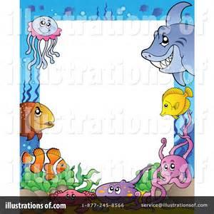 Ocean Fish Border Clip Art Free