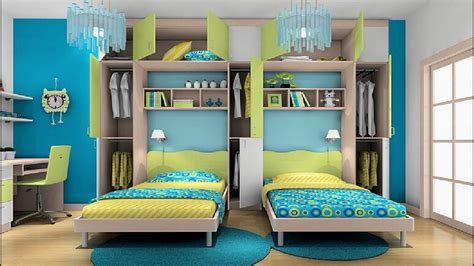Kids Room Double Bed At Home Design Concept Ideas