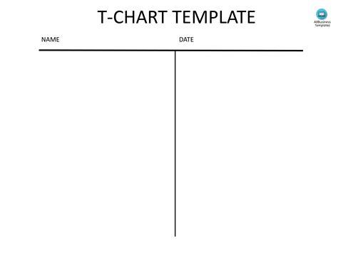 t chart template t chart template madinbelgrade