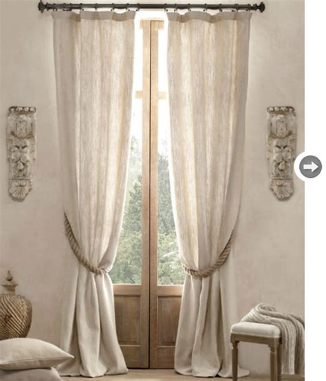 restoration hardware curtains furniture ideas