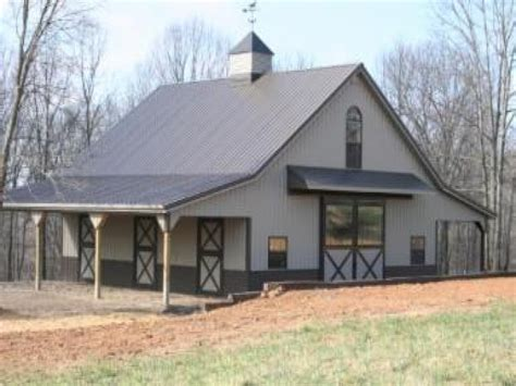 Metal Barn House, Pole Barn Homes Metal Barn Siding Home