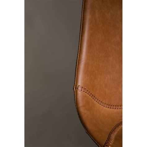 chaise cuir vintage lot de 2 chaises vintage façon cuir franky