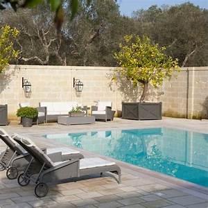 8 exemples de deco pour la piscine miliboo blog With deco jardin avec piscine 8 arrosage de lalbizia