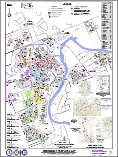 contractor maps facilities management western university